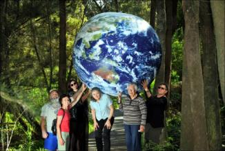Having a Ball with Earth