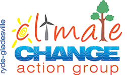 Ryde Gladesville Climate Change Action Group - A politically unaffiliated group of concerned residents who wish to see immediate and decisive action on the most important issue of our time