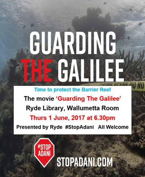 guarding the galilee poster